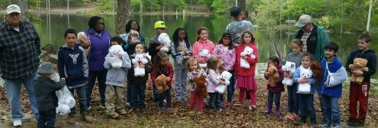 Teddy Bear Hunt Group Photo