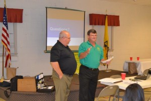 Ricky George, past President receives recognition award
